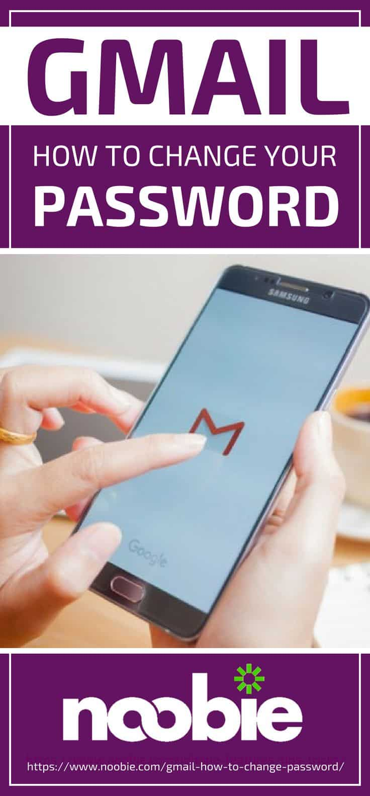 Pinterest Placard | Gmail: How To Change Your Password
