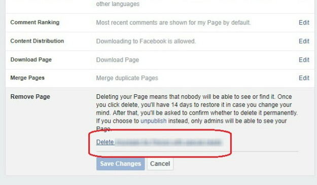 Deleting Facebook Page On Windows or Mac | How To Delete Facebook Page