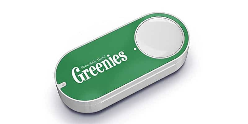 Greenies Dash Button