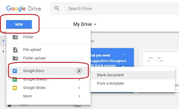 Create New Doc File | How To Create A Google Doc In Just 5 Simple Steps