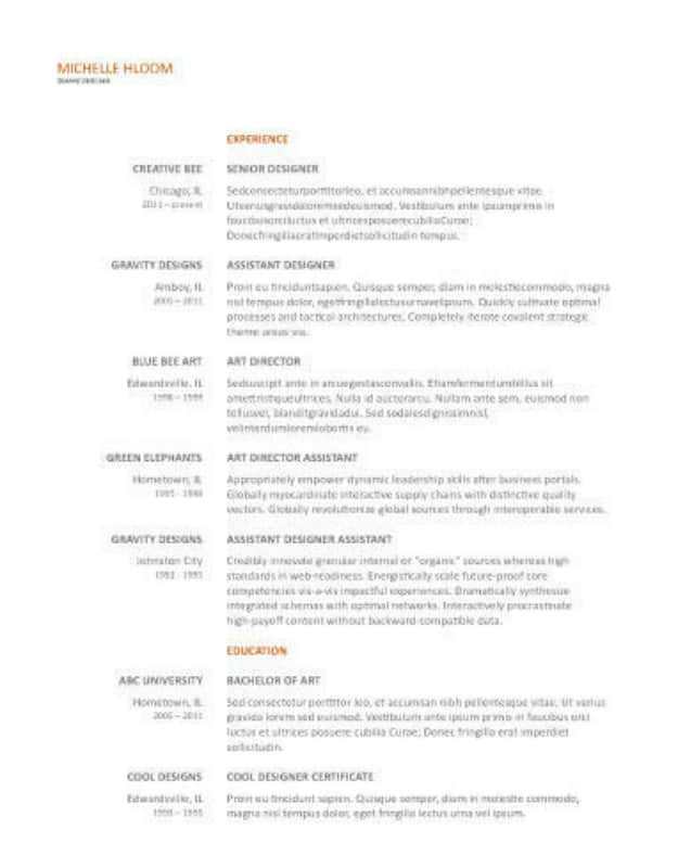resume template google docs - Vatoz.atozdevelopment.co