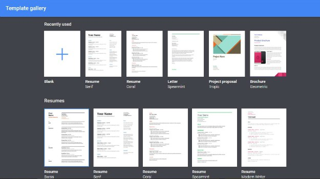 Use Templates | How To Create A Google Doc In Just 5 Simple Steps