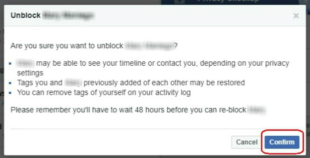Unblock Your Friend | How To Unblock Someone On Facebook