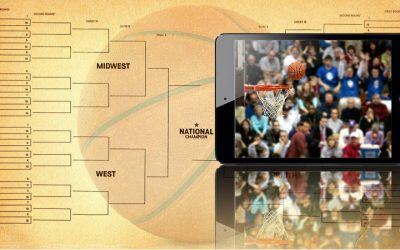 Xfinity X1 is my basketball tournament navigator
