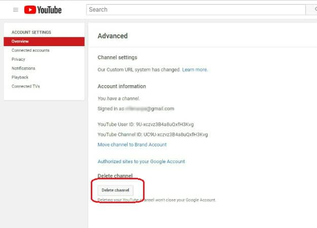 Choose Delete Channel | How To Delete A YouTube Account In 7 Steps