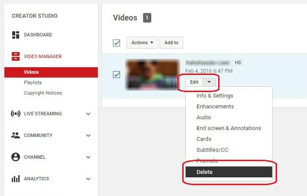 How To Delete A YouTube Video | How To Delete A YouTube Video In 7 Easy Steps