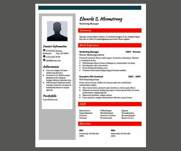 30 google docs resume template to ace your next interview