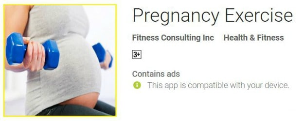 Pregnancy Exercise | 37 Most Helpful Pregnancy Apps