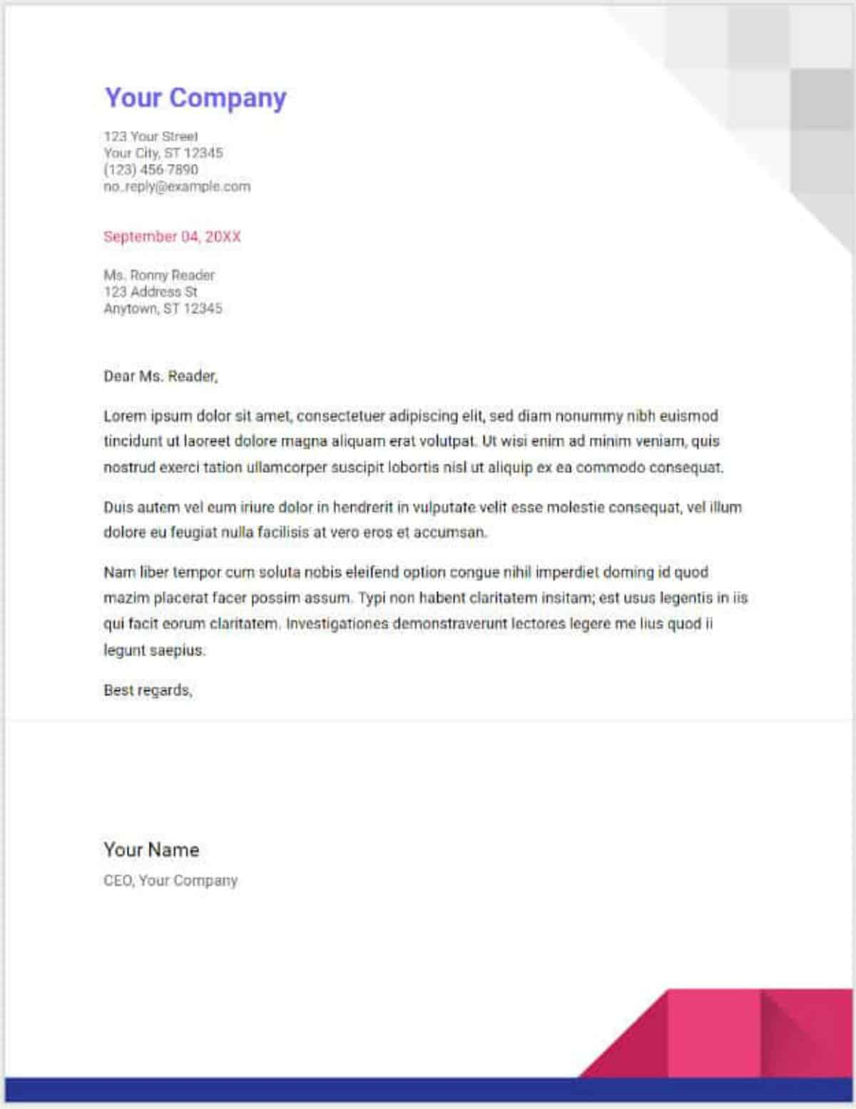 business letters | Google Docs Templates To Make Life Easier | Noobie | Google Docs templates | document