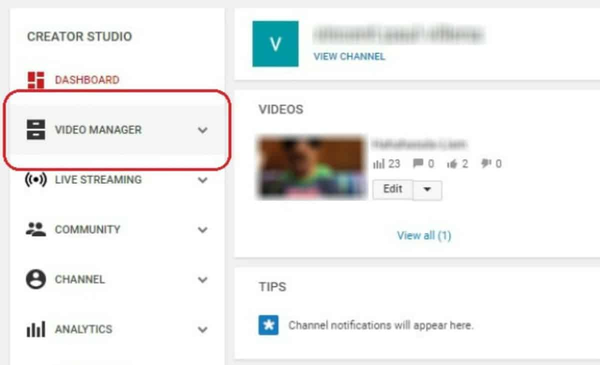 click video manager | How To Delete A YouTube Video In Easy Steps | how to delete a YouTube video | how to remove a video from YouTube that someone else uploaded