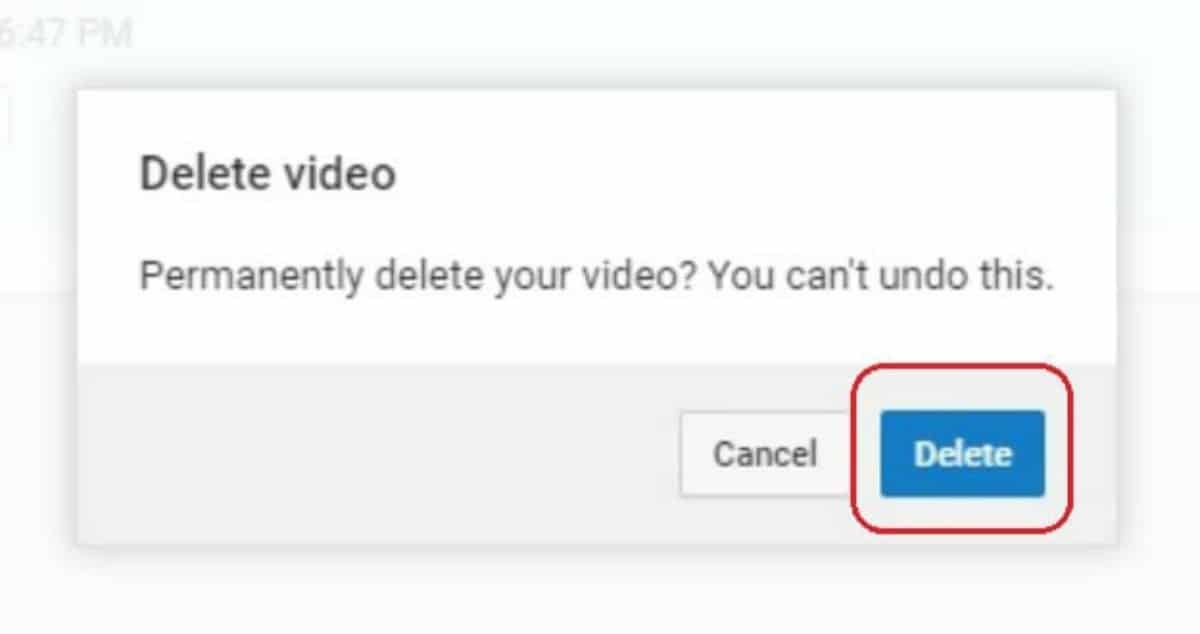 confirm delete | How To Delete A YouTube Video In Easy Steps | how to delete a YouTube video | remove an uploaded video from YouTube