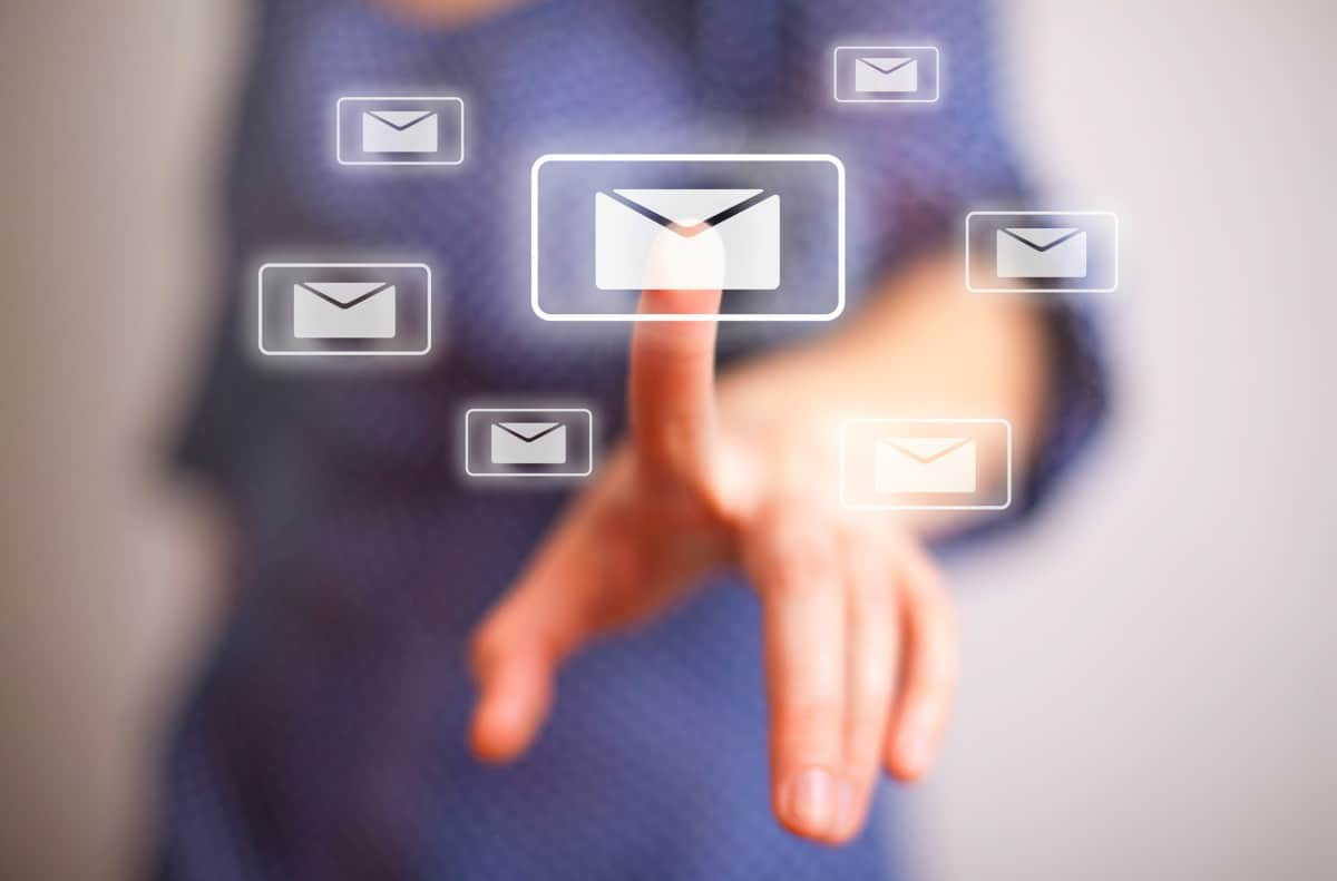 woman hand pressing email sign | Sign Up For Gmail | A Comprehensive New User Guide | sign up for Gmail | email sign up