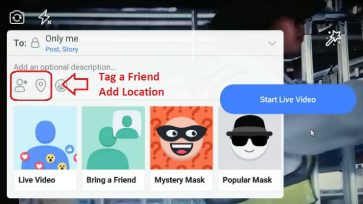 personalize the video | How To Do Facebook Live | Go Live With These Steps | how to do facebook live | livestream