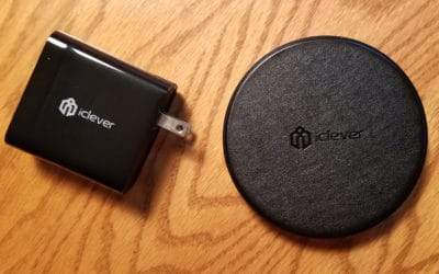Review: iClever fast wireless charger and quick charge USB wall charger