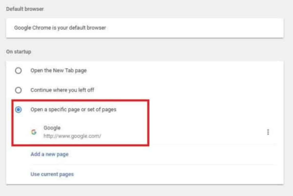 step 3 | How To Make Google Your Homepage In Just 4 Steps | how to make google your homepage | make google your homepage on chrome