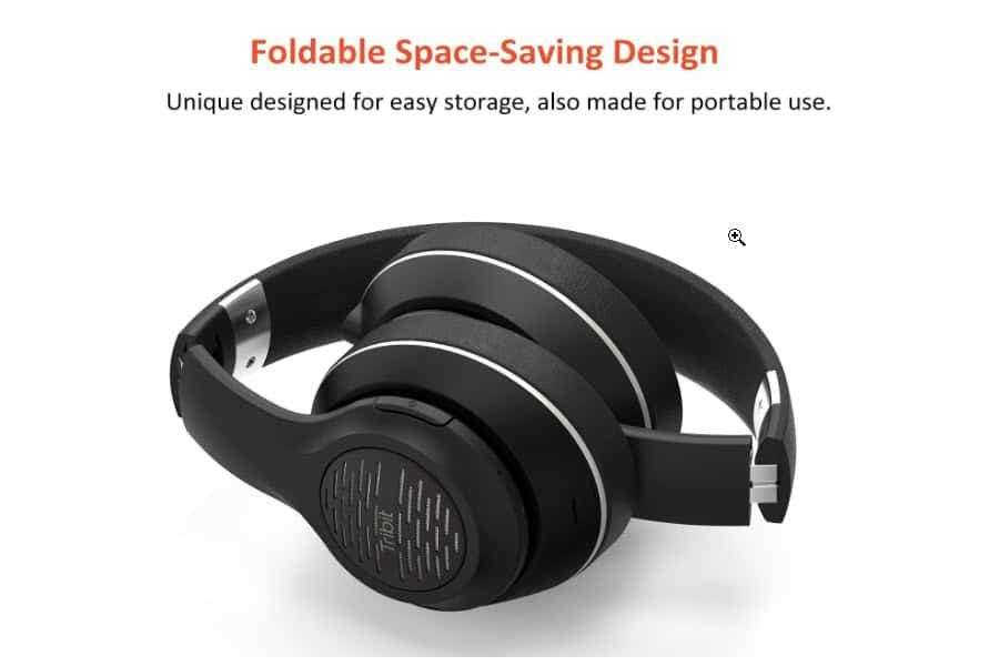 Tribit XFree Tune Headphones - Foldable Design