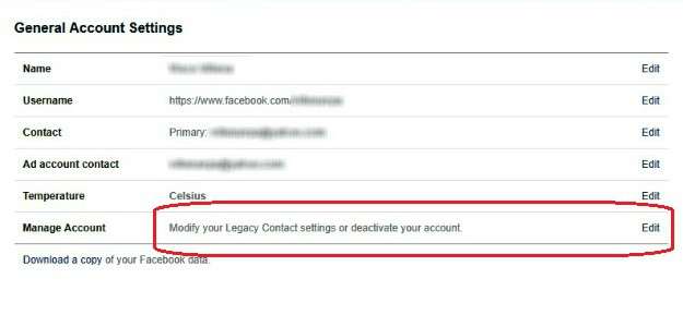 Go Back to Account Settings | How To Deactivate Facebook In Just 9 Steps