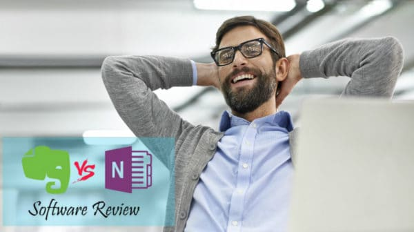 Featured   Shot of a young businessman working on his laptop   Evernote Vs OneNote   Software Review