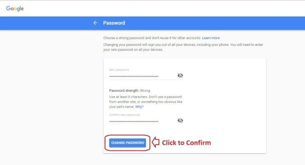 Edit Password Details   Gmail: How To Change Your Password   gmail   password   change