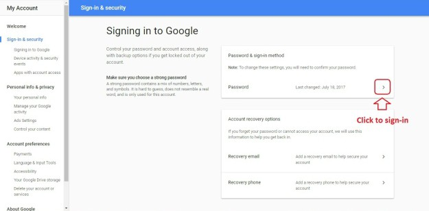 Edit Password Details | Gmail: How To Change Your Password | gmail | password | change