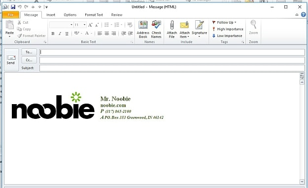 Work on Your Signature | How To Edit Signature In Outlook | signature template | create your signature | add a signature