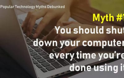 7 popular technology myths debunked