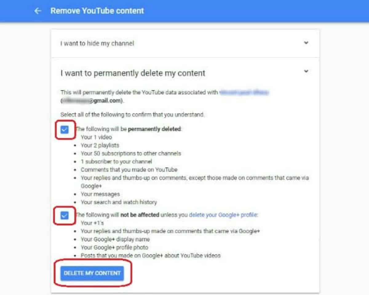 Delete Your Channel | How To Delete A YouTube Account In Steps | how to delete a Youtube account | delete your youtube account