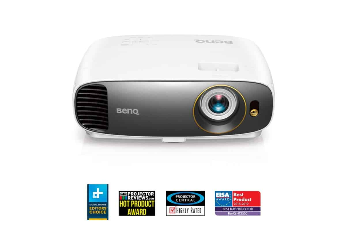 BenQ HT2550 | Best Home Theater Projectors For Indoor and Outd oor TV Nights | best projector for gaming