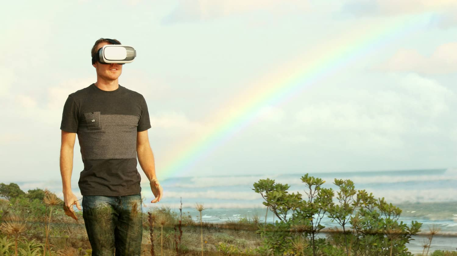 Feature   Sea landscape nature and sky   What Is the Difference Between AR and VR?   virtual and augmented reality