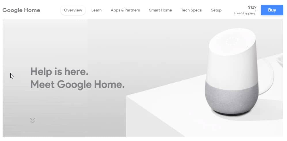 Meet Google Home