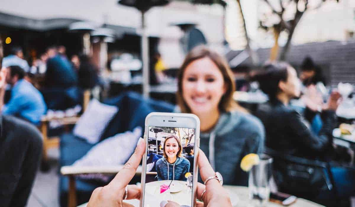 taking a photo with a smartphone | Protecting Yourself from Camera and Phone Spying