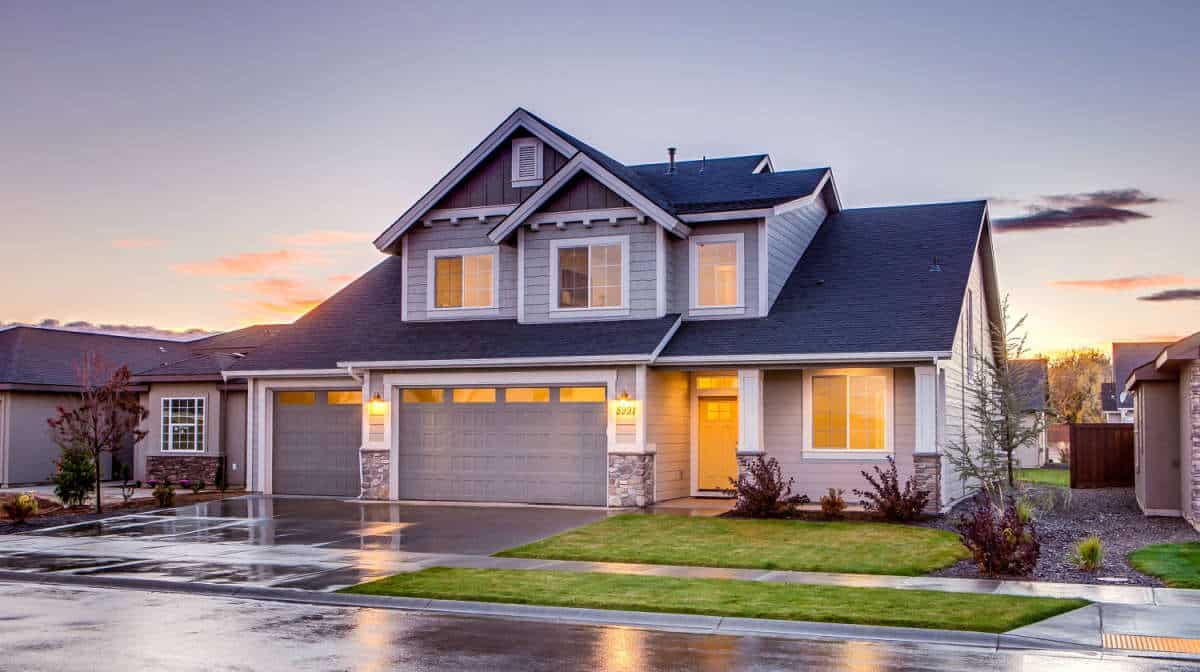 Blue and gray concrete house | The Ultimate Smart Home Systems Buying Guide