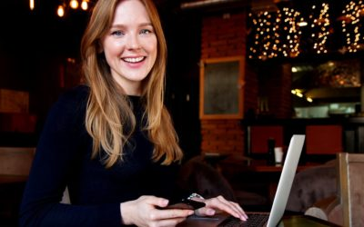 Feature | business lady with her laptop | Did You Know You Can Unsend Gmail Messages?