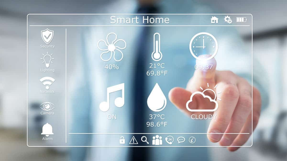 Businessman on blurred background | The Ultimate Smart Home Systems Buying Guide