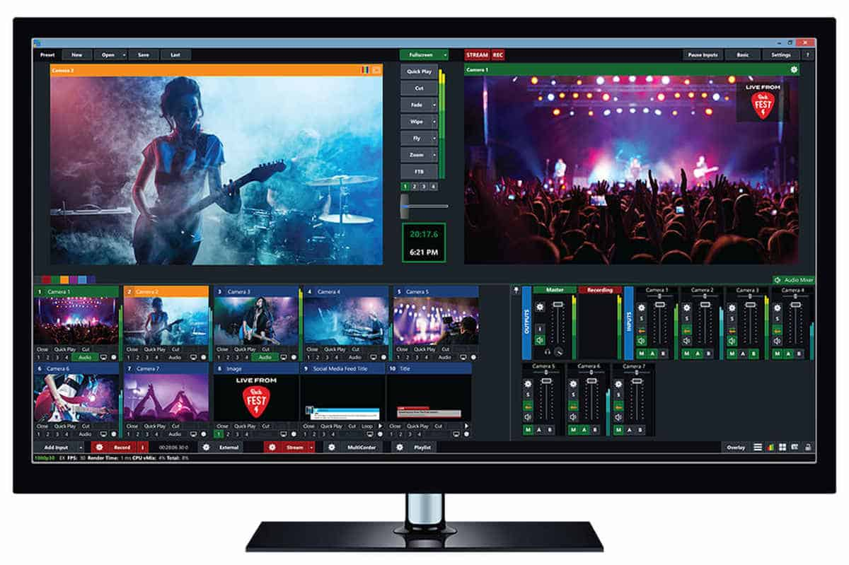 vMix | Best Streaming Software for PC and Mac | best free streaming software