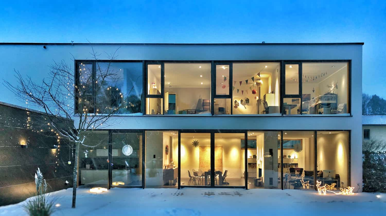 Feature | Warm open winter house | The Ultimate Smart Home Systems Buying Guide
