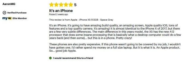 Reviews for the iPhone XR, XS, and XS Max | iPhone XR, XS, and XS Max | Difference Between The Latest iPhone Models