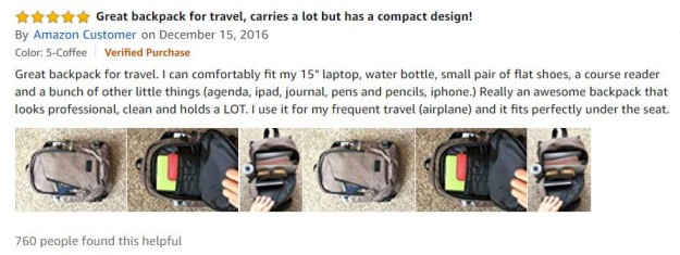 Mancro Charging Backpack Reviews