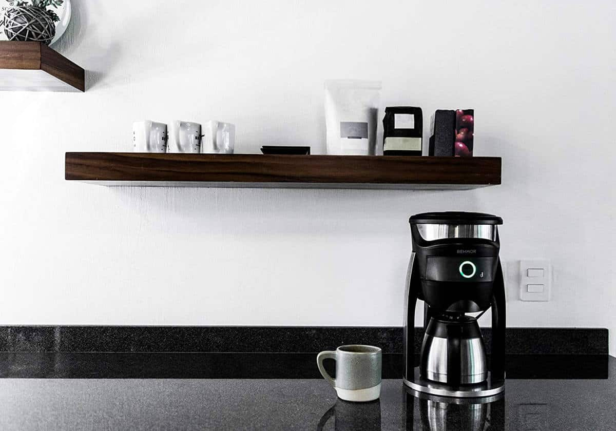 Behmor Connected Customizable Temperature Control Coffee Maker, Compatible with Alexa | Smart Tech Gift Ideas for Smart Homeowners