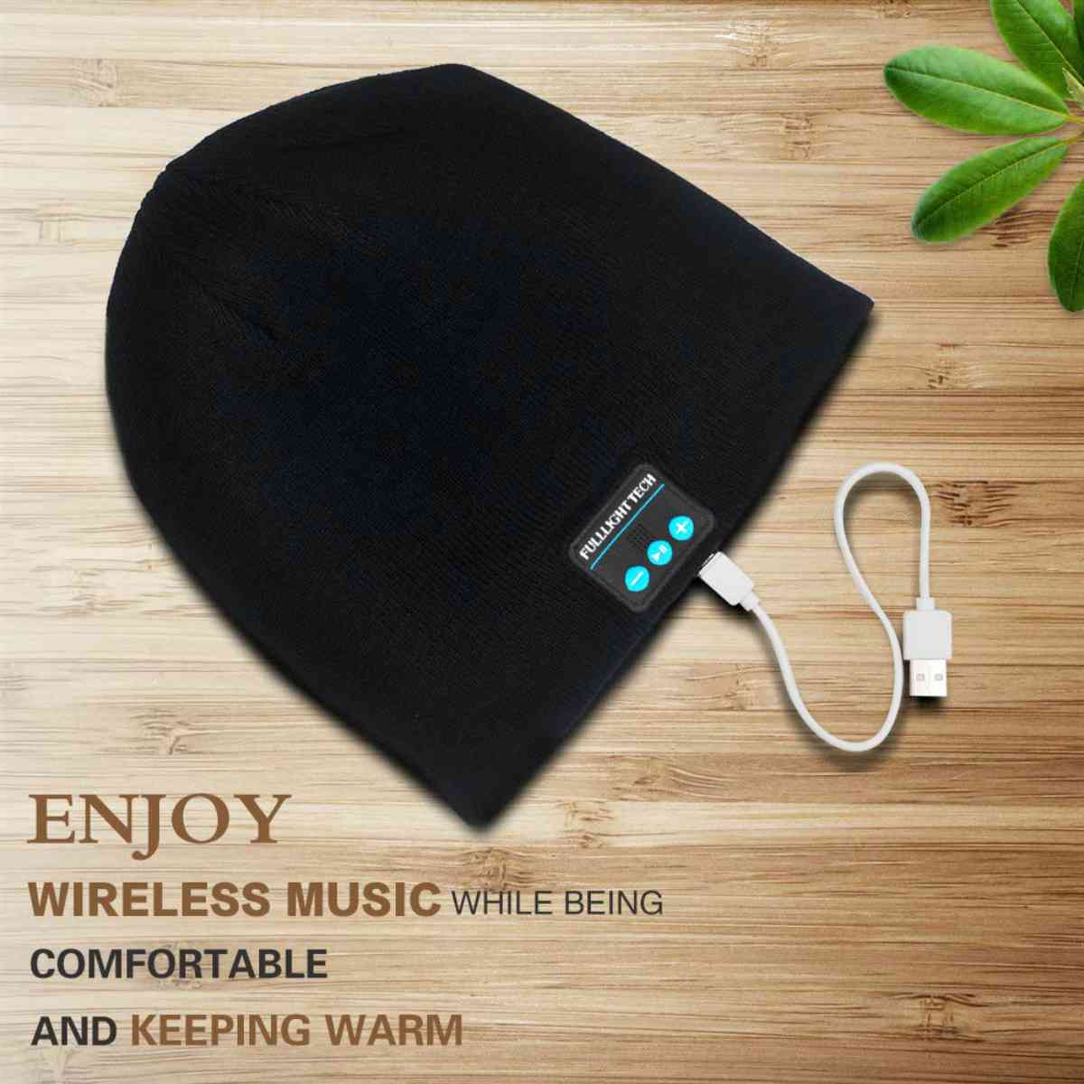 Upgraded V4.2 Bluetooth Beanie Hat Headphones Wireless Headset Winter Music Speaker | Best Low Tech Gifts Anyone Will Love
