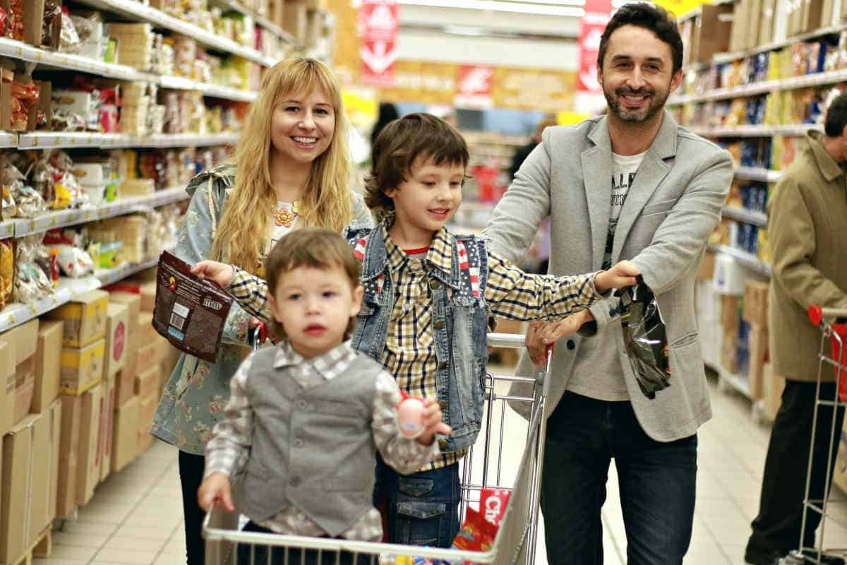 Family shopping center | Be Cautious of Doorbuster Sales. You Might Not Score a Deal if You're Not One of the First in Line. Going to a Doorbuster Sale can Only Lure You into Purchasing Something that's Not in Your Shopping list | Black Friday and Cyber Monday Shopping Survival Tips