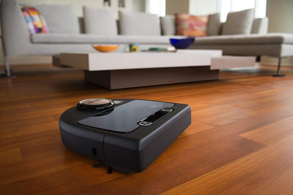 Neato Botvac Connected Wi-Fi Enabled Robot Vacuum, Works with Alexa | Smart Tech Gift Ideas for Smart Homeowners