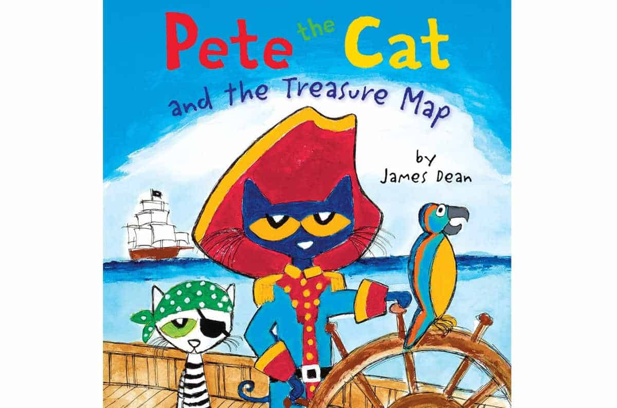 Pete the Cat and the Treasure Map | Best eBooks on Kindle for Kids