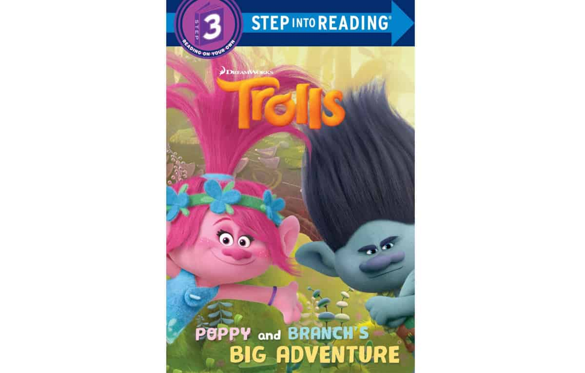 Poppy and Branch's Big Adventure (DreamWorks Trolls) (Step into Reading) | Best eBooks on Kindle for Kids