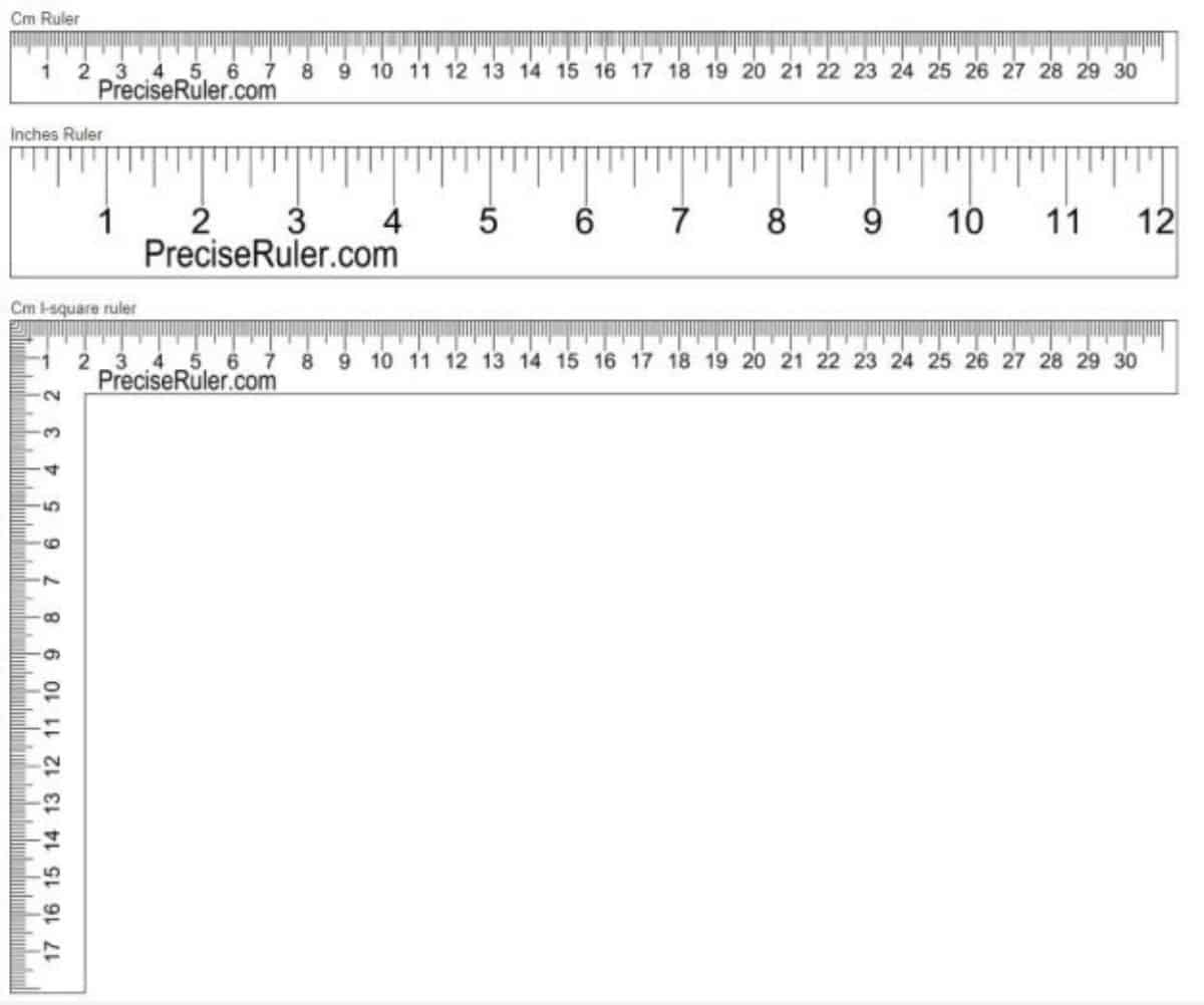 PreciseRuler | Online Rulers To Use When You Can't Find A Physical One