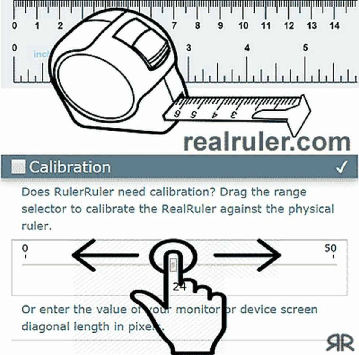 Real Ruler | Online Rulers To Use When You Can't Find A Physical One