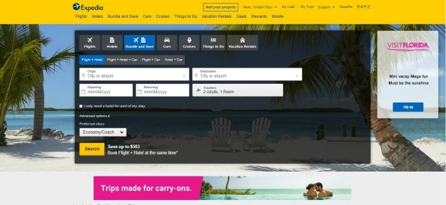 Search for Your Desired Trip on Expedia | How to Find and Use an Expedia Coupon