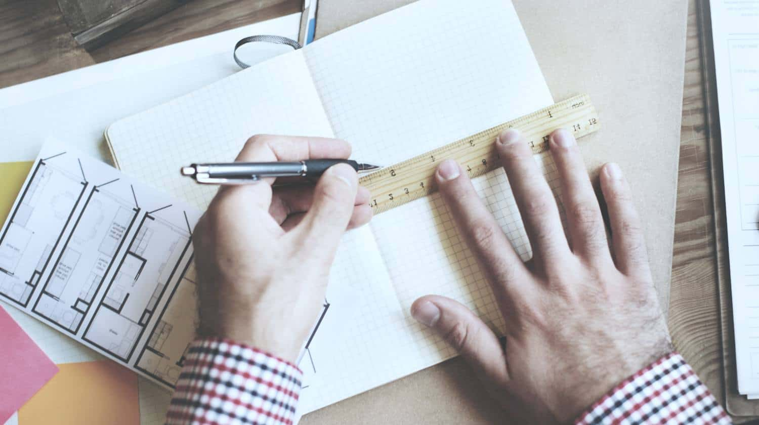 Feature | man using ruler | Online Rulers To Use When You Can't Find A Physical One
