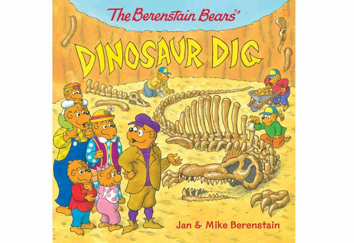 The Berenstain Bears' Dinosaur Dig | Best eBooks on Kindle for Kids