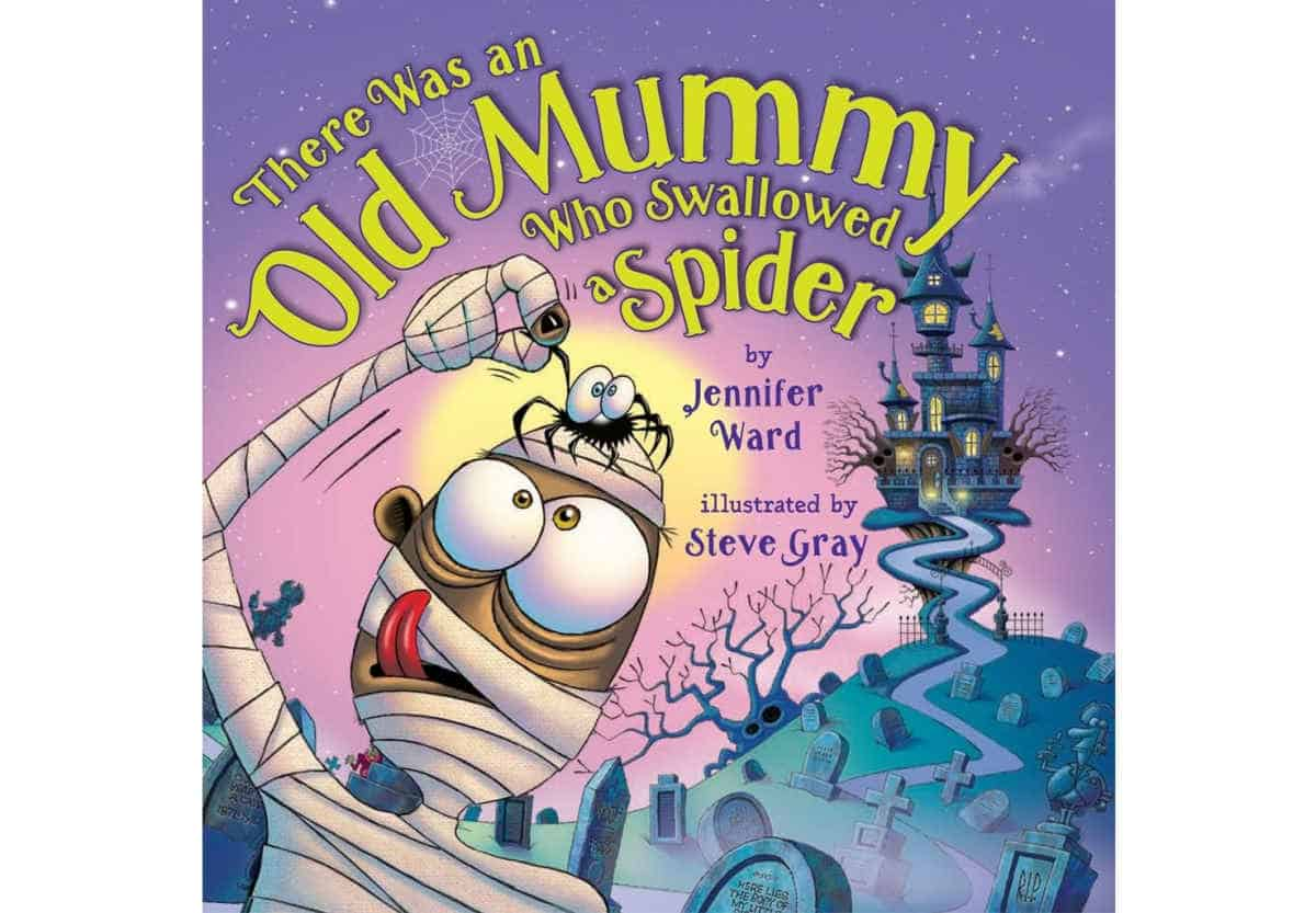 There Was an Old Mummy Who Swallowed a Spider | Best eBooks on Kindle for Kids
